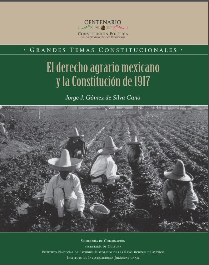 Un libro analiza el artículo 27 constitucional