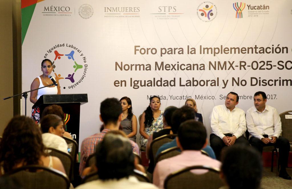 Respaldo total, a la igualdad laboral y no discriminación