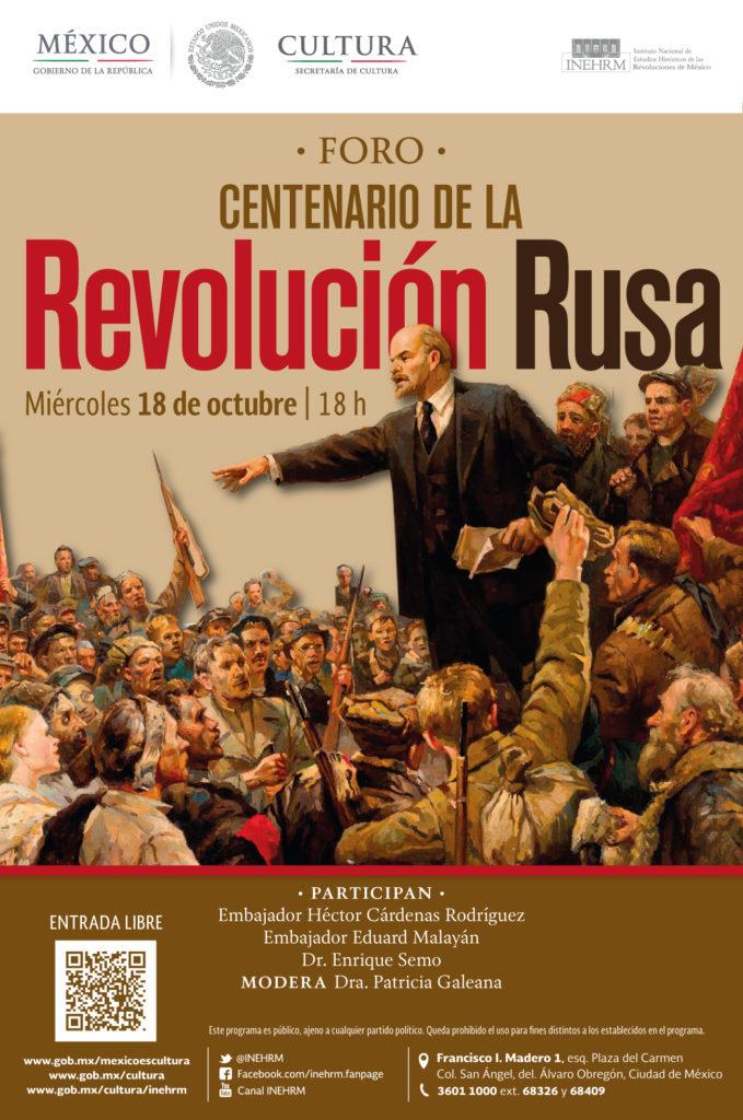 Historiadores y diplomáticos analizarán Centenario de la Revolución Rusa.
