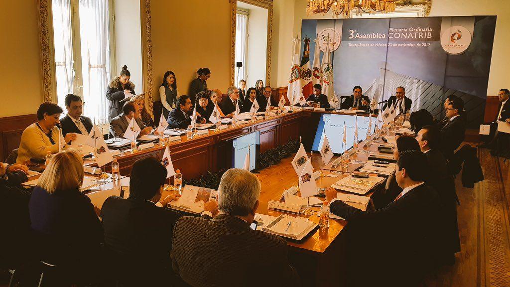 Trascendentes propuestas en torno a la independencia judicial efectiva, en 3a Asamblea de CONATRIB