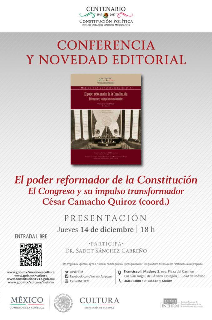 Obra presenta visión de grupos parlamentarios sobre el Centenario de la Constitución
