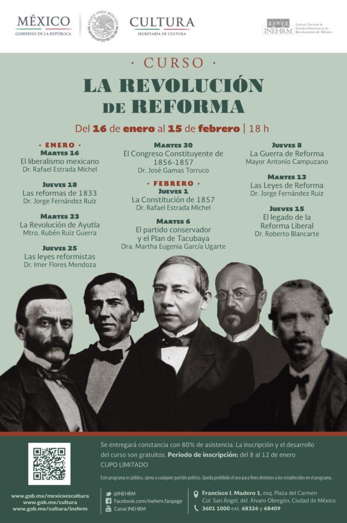 Especialistas analizarán la revolución de reforma a 160 años