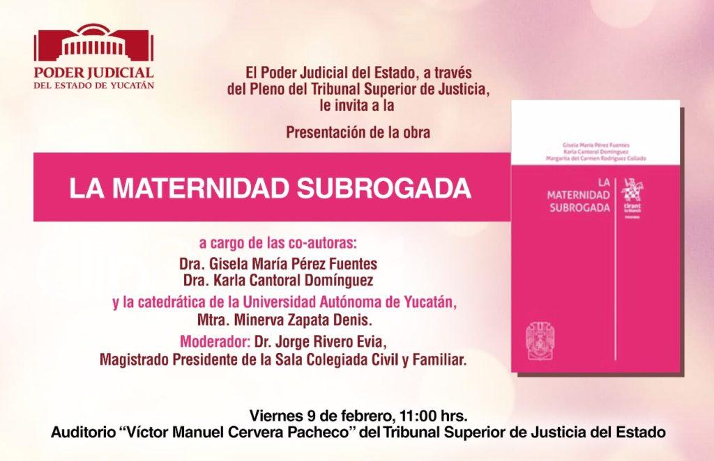 La Maternidad Subrogada, tema que se abordará en el Poder Judicial del Estado
