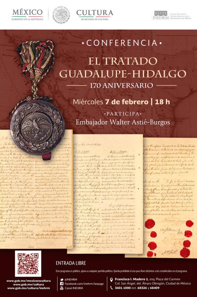 Analizarán en el INEHRM el Tratado Guadalupe Hidalgo, a 170 años de su firma