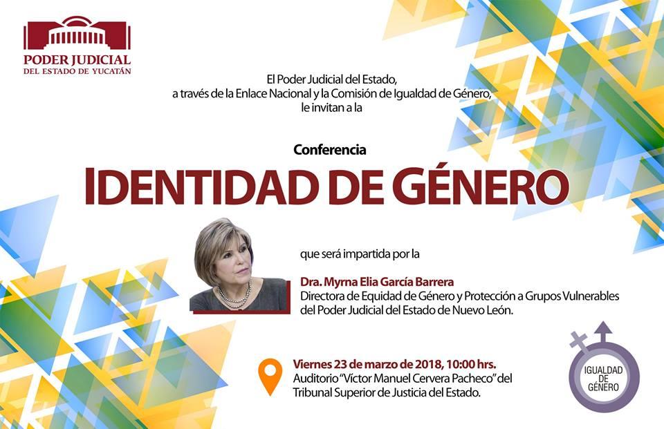 Identidad de género, tema que se abordará en el Poder Judicial del Estado de Yucatán