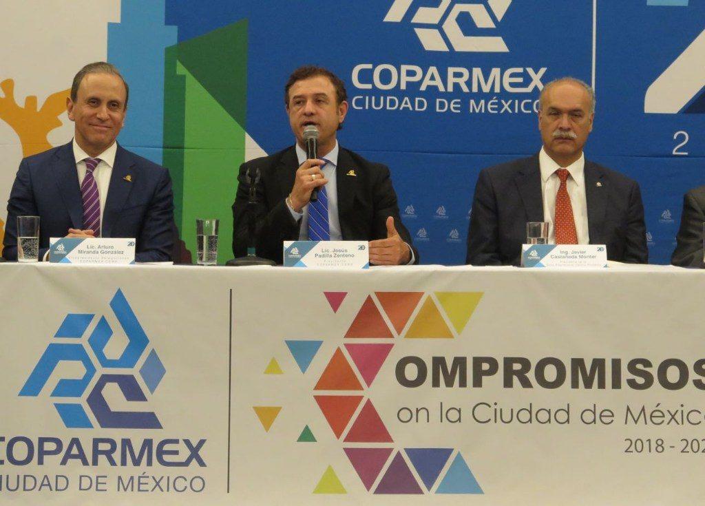 Listos en COPARMEX CDMX para generar propuestas a nuevos gobiernos