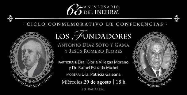 Celebra INEHRM 65 años de difundir la historia de México