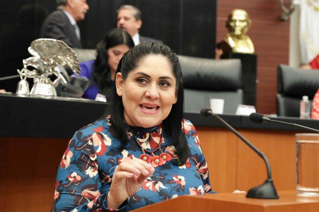 Reconocen en la Comisión Permanente a la senadora Diva Gastélum