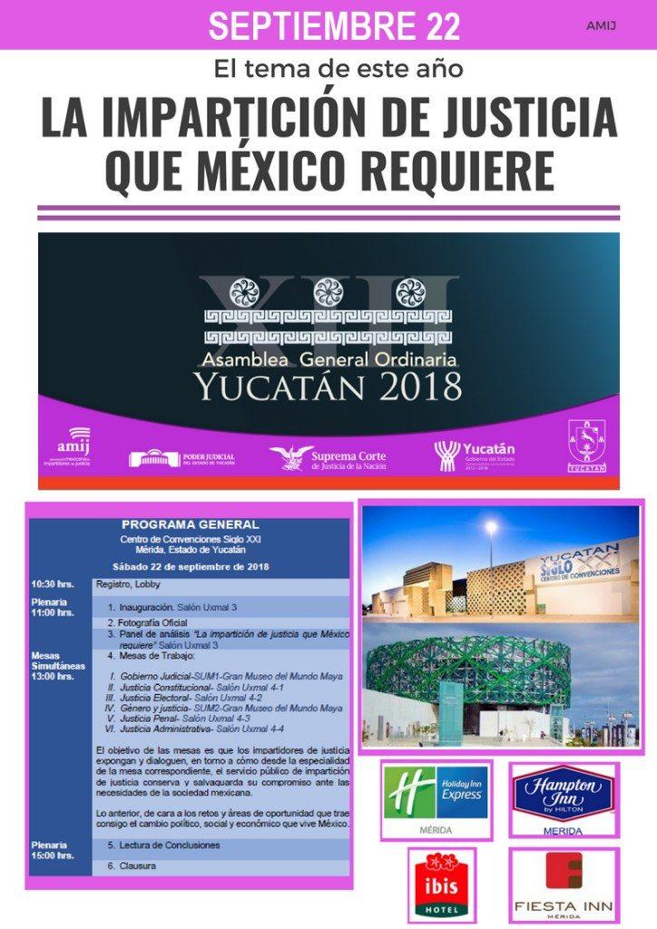 En Yucatán cumbre sobre justicia