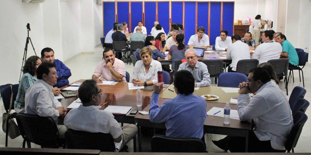 Evalúa INE proceso electoral federal 2017-2018 en Yucatán