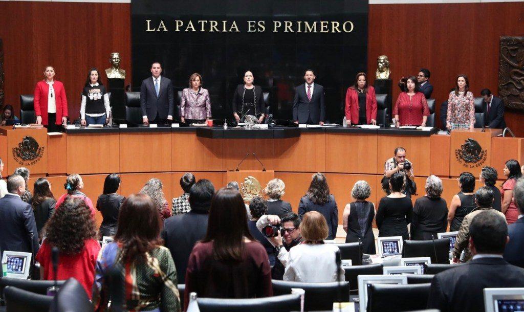Conmemora el Senado 65 años del derecho al voto de la mujer