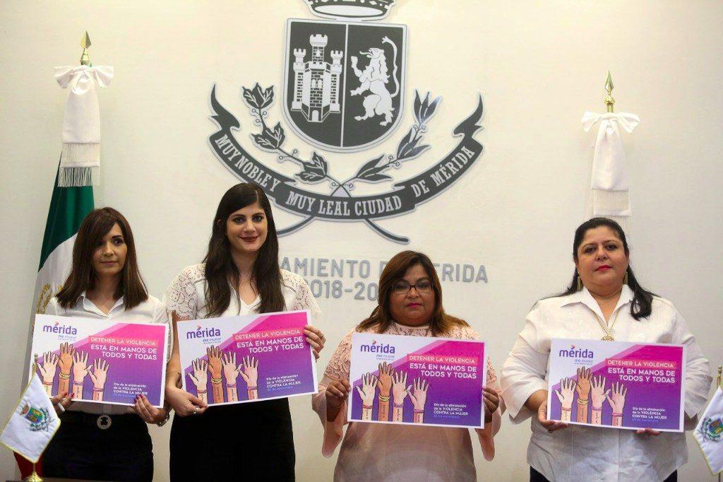 Campaña municipal para erradicar la violencia contra la mujer