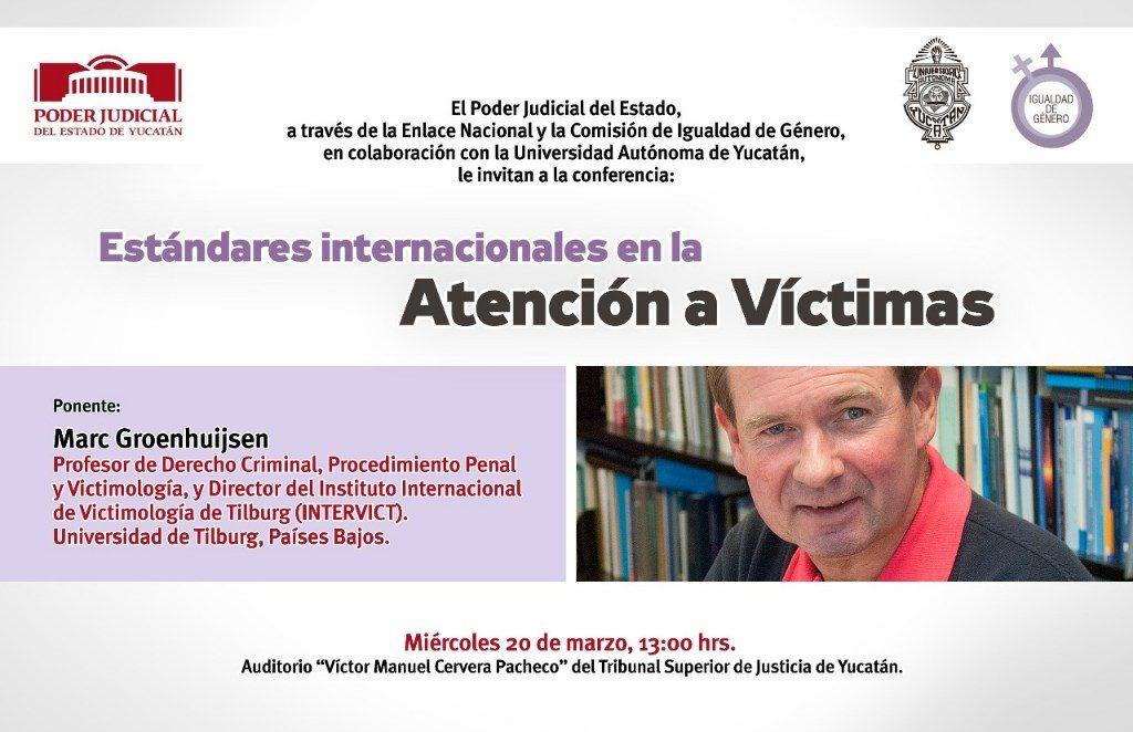Se abordará el tema de atención a víctimas en el Poder Judicial