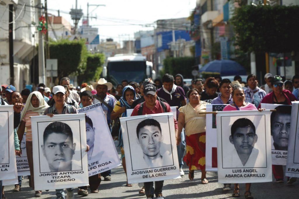 Caso Iguala y Movimiento del 68, hechos históricos con puntos en común