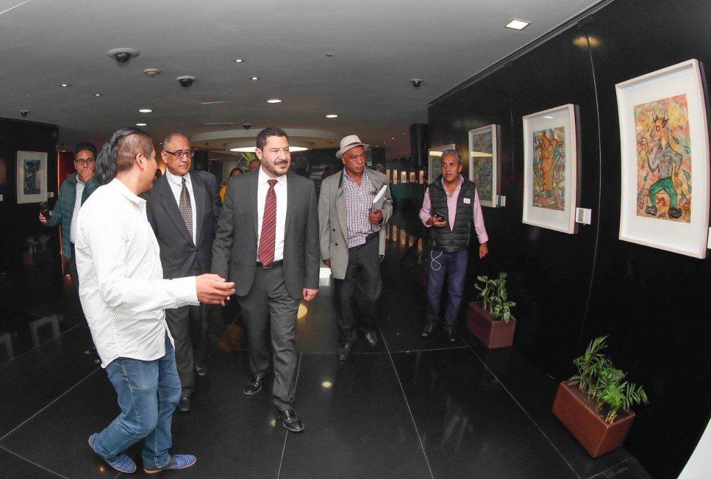 """Inauguran exposición artística """"Festín de tierra"""""""